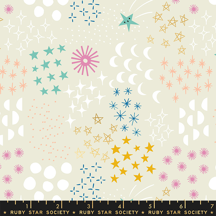 Final Frontier Cotton from the Stellar Collection by Ruby Star Society