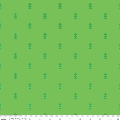 Fly Right Green from the Create collection by Riley Blake Designs, 100% Modern Cotton Fabric