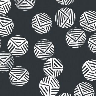 Geo-Dot-Dear-Stella-Black-and-White-Fabric