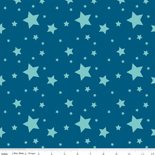 Starlight Dark Blue from the Create collection by Riley Blake Designs, 100% Modern Cotton Fabric