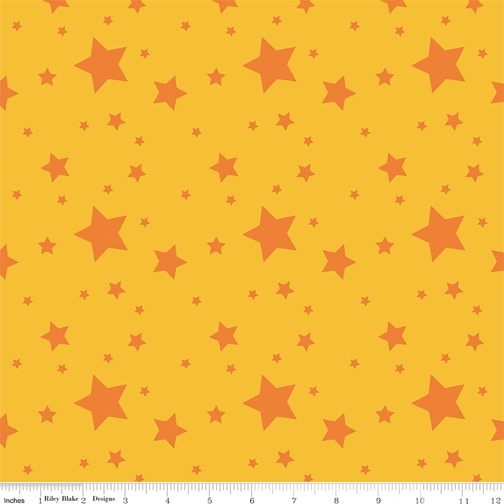 Starlight Gold from the Create collection by Riley Blake Designs, 100% Modern Cotton Fabric
